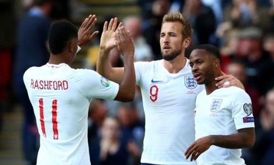 Tuyển Anh tiếp tục thăng hoa nhờ hàng công cực mạnh với thủ lĩnh Harry Kane. Ảnh: Getty Images