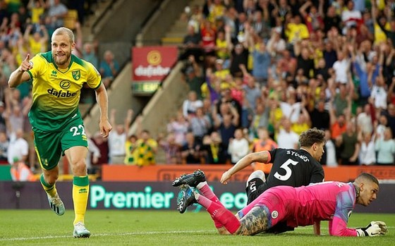 Man.City gục ngã trước Norwich là lời cảnh báo rõ ràng. Ảnh: Getty Images