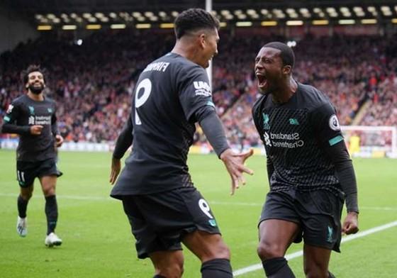 Một Liverpool chịu nhiều áp lực đã khá may mắn mới thắng được tại Sheffield United. Ảnh: Getty Images