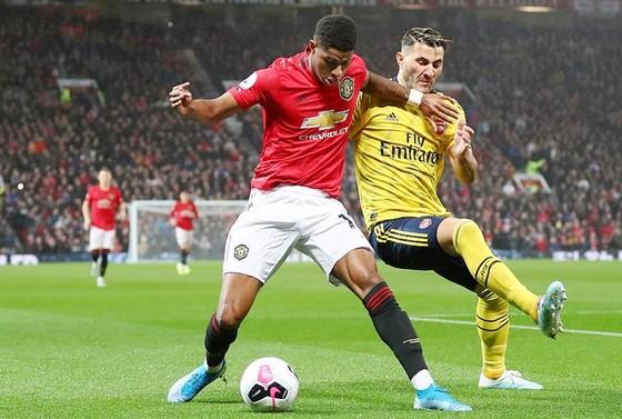 Man.United đã để Arsenal chia điểm trong thất vọng. Ảnh: Getty Images