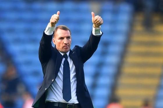 HLV Brendan Rodgers đầy tự tin khi trở lại sân đấu cũ Anfield. Ảnh: Getty Images