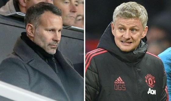 Ryan Giggs lo ngại ban lãnh đạo Man.United không đủ kiên nhẫn với Ole Gunnar Solskjaer. Ảnh: Express