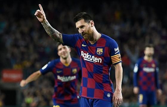 Lionel Messi đã tìm lại cảm giác ăn mừng bàn thắng. Ảnh: Getty Images