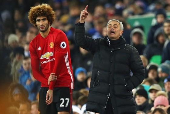 Marouane Fellaini tin rằng Jose Mourinho sẽ thành công nếu có được sự ủng hộ. Ảnh: Getty Images