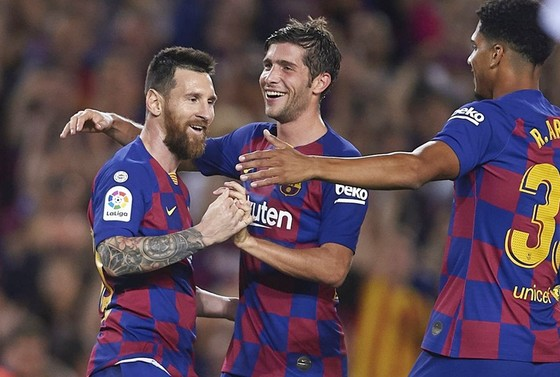 Lionel Messi thừa nhận sẽ không thể bùng nổ liên tục trong tương lai. Ảnh: Getty Images