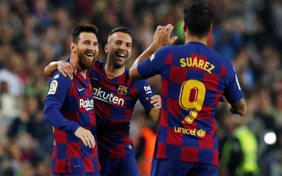 Lionel Messi đã bùng nổ trở lại sau chấn thương. Ảnh: Getty Images