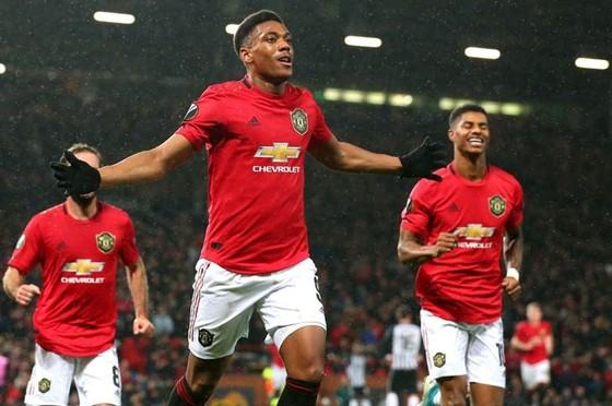 Các chấn sút tiếp tục phong độ ghi bàn giúp Man.United sớm hoàn thành nhiệm vụ. Ảnh: Getty Images