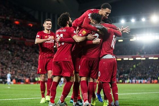 Liverpool tiếp tục thể hiện sức mạnh của nhà vô địch thực thụ. Ảnh: Getty Images