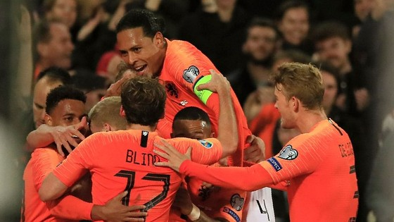 """""""Sắc da cam"""" Hà Lan đã trở lại với một kỳ giải lớn sau 2 lần lỡ hẹn. Ảnh: Getty Images"""