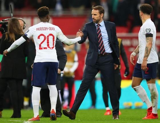 HLV Gareth Southgate tự tin tuyển Anh đã tạo được vị thế lớn. Ảnh: Getty Images