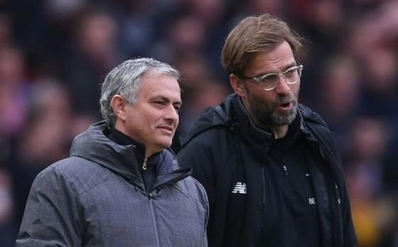 Jurgen Klopp chắc chắn là thách thức lớn đối với tham vọng tranh đoạt vinh quang của Jose Mourinho. Ảnh: Getty Images
