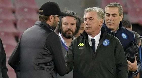 Carlo Ancelotti là HLV duy nhất có thể thắng đội bóng của Jurgen Klopp ở mùa này... Ảnh: Getty Images