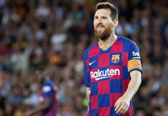 Lionel Messi sẵn sàng khép lại rắc rối để tập trung cho phần còn lại của mùa giải. Ảnh: Getty Images