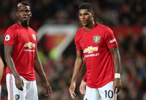 Marcus Rashford và Paul Pogba có thể sẽ vắng mặt trong phần còn lại của mùa giải. Ảnh: Getty Images