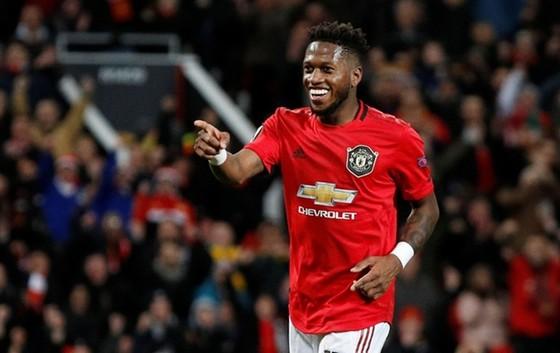 Tiền vệ Fred mừng những bàn thắng hiếm hoi của mình ở Man.United. Ảnh: Getty Images