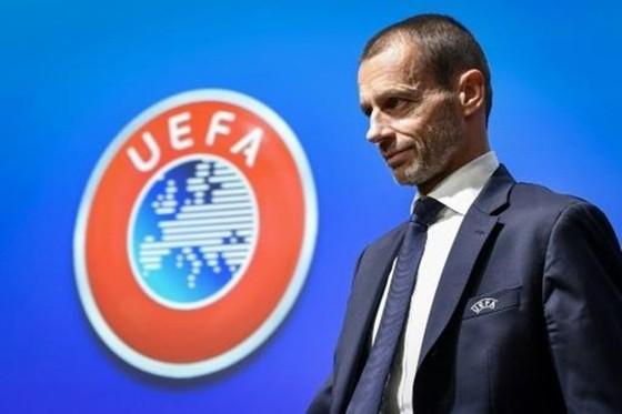 Chủ tịch UEFA, Aleksander Ceferin. Ảnh: Getty Images