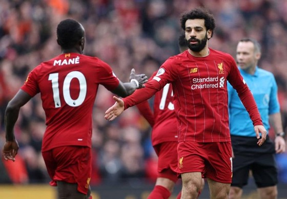 Các ngôi sao của Liverpool đã kịp bừng tỉnh để giúp đội chiến thắng. Ảnh: Getty Images