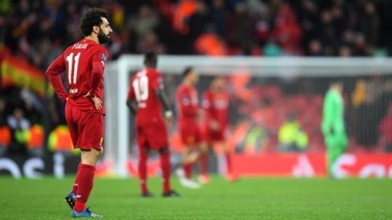 Liverpool thất vọng trong ngày trở thành cựu vương. Ảnh: Getty Images
