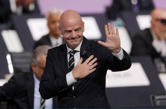 Chủ tịch LĐBĐ thế giới (FIFA) Gianni Infantino. Ảnh: Getty Images