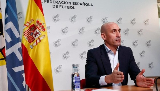 Chủ tịch RFEF, Luis Rubiales. Ảnh: Getty Images