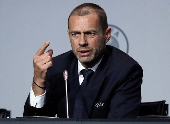 Aleksander Ceferin thừa nhận không chắc mùa giải này có thể kết thúc. Ảnh: Getty Images