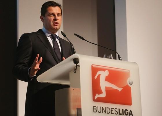 Chủ tịch DFL, Christian Seifert thận trọng trong mục tiêu đưa bóng đá Đức trở lại. Ảnh: Getty Images