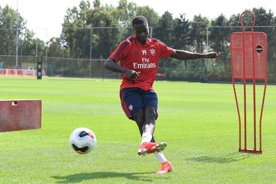 Cầu thủ Arsenal được phép trở lại sân tập London Colney. Ảnh: Getty Images