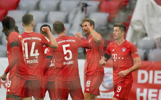 Bayern Munich tiếp tục phong độ hủy diệt. Ảnh: Getty Images