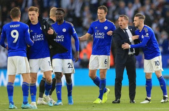 Leicester đang trở nên thú vị dưới quyền HLV Brendan Rodgers. Ảnh: Getty Images