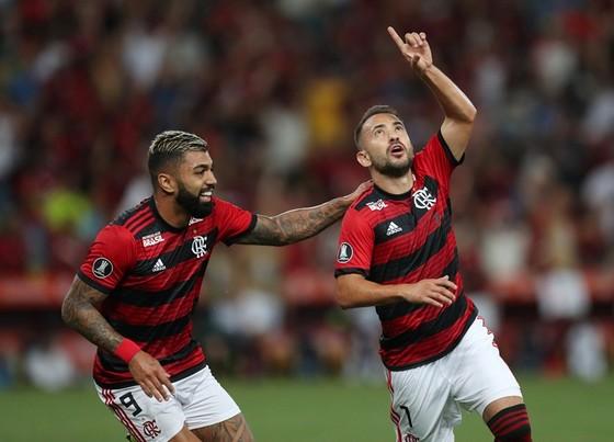Nhà vô địch Brazil, Flamengo thậm chí đã tập trở lại từ tuần trước. Ảnh: Getty Images