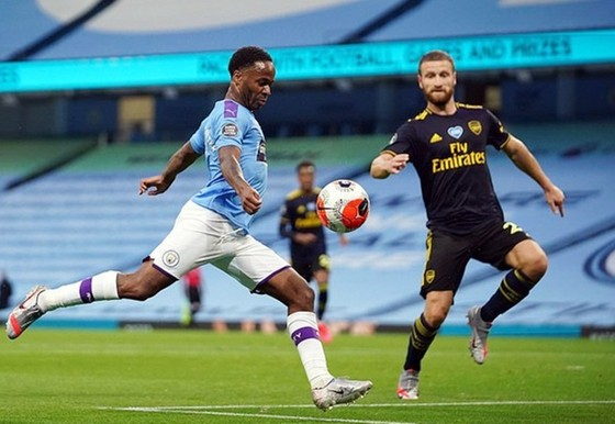 Đương kim vô địch Man.City sẽ đối đầu với Arsenal ở bán kết. Ảnh: Getty Images