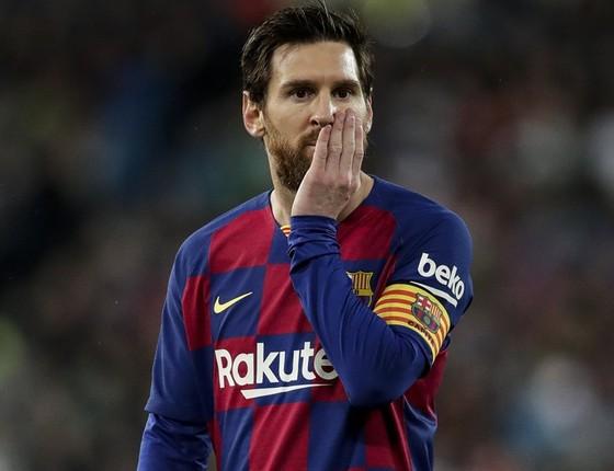 Lionel Messi đang thất vọng và sẵn sàng chia tay Barca. Ảnh: Getty Images