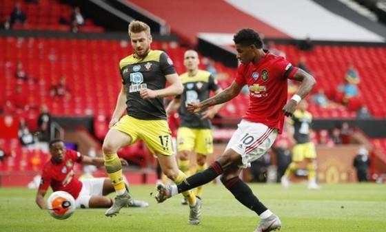 Marcus Rashford và Man.United đã đánh rơi điểm số rất đáng tiếc. Ảnh: Getty Images