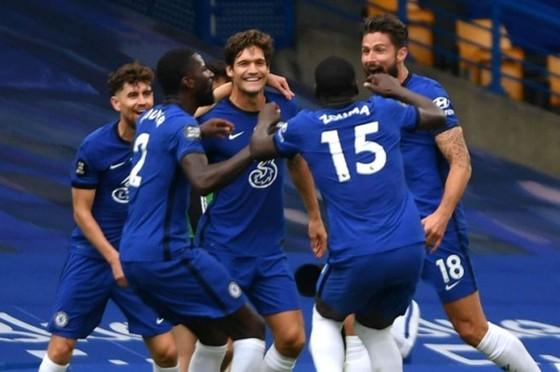 Chelsea hào ứng với tấm vé dự Champions League. Ảnh: Getty Images