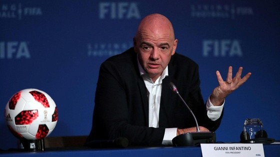 Chủ tịch FIFA, Gianni Infantino sẽ không bị Ủy ban đạo đức điều tra. Ảnh: Getty Images