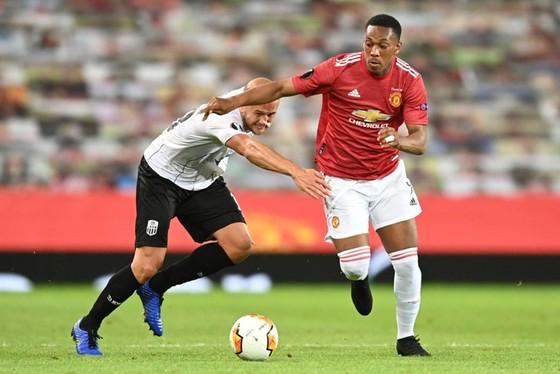 Man.United không ngoài dự đoán nhẹ nhàng ghi tên mình vào tứ kết. Ảnh: Getty Images