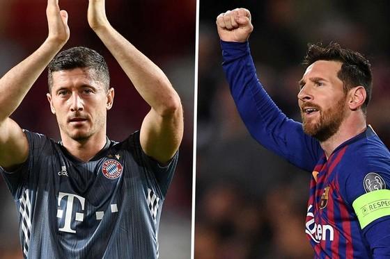 Màn trình diễn của Lionel Messi và Robert Lewandowski sẽ tác động quan trọng đến cục diện trận đấu.