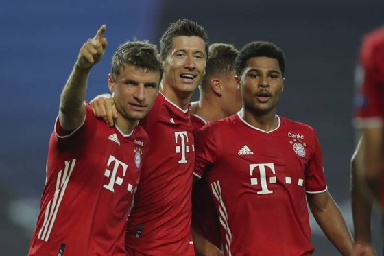 Một Bayern Munich vượt trội xứng đáng vào chung kết. Ảnh: Getty Images