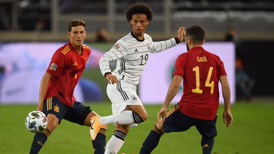 Tây Ban Nha hòa 1-1 trên sân tuyển Đức trong trận mở màn bảng 4 thuộc League A của Nations League. Ảnh: Getty Images