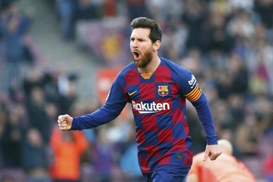 Lionel Messi trong lần đầu tiên lên tiếng về tương lai đã khẳng định anh sẽ ở lại Barcelona. Ảnh: Getty Images