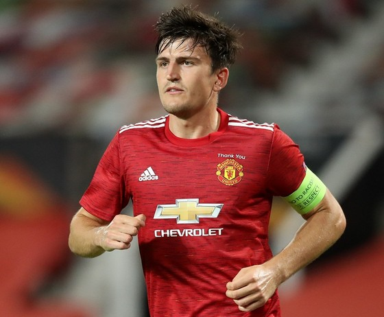 Harry Maguire sẽ vẫn là đội trưởng của Man.United. Ảnh: Getty Images