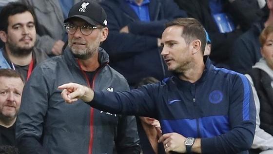 """Frank Lampard và HV Jurgen Klopp đã liên tục đấu """"võ mồm"""" trong vài tháng qua. Ảnh: Getty Images"""