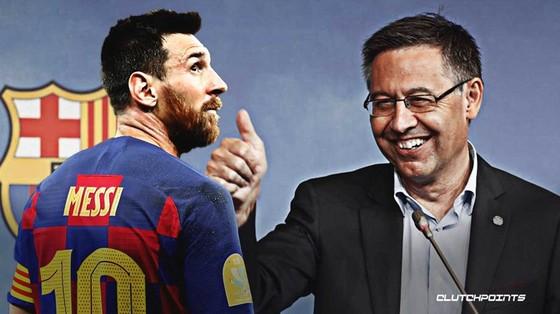 Chủ tịch Josep Maria Bartomeu có động thái xoa dịu bất đồng với Lionel Messi.