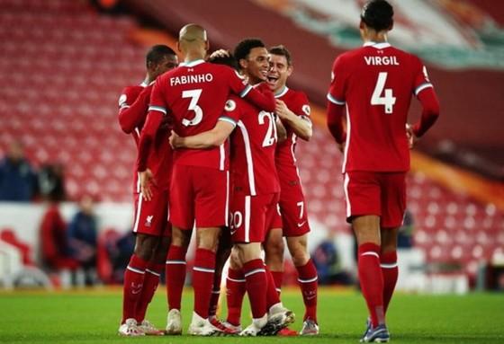 Liverpool vẫn tỏ rõ sức mạnh của nhà vô địch. Ảnh: Getty Images