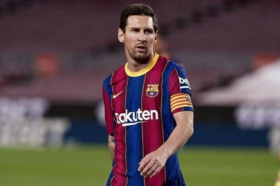 Lionel Messi chỉ mới ghi một bàn ở mùa giải mới. Ảnh: Getty Images