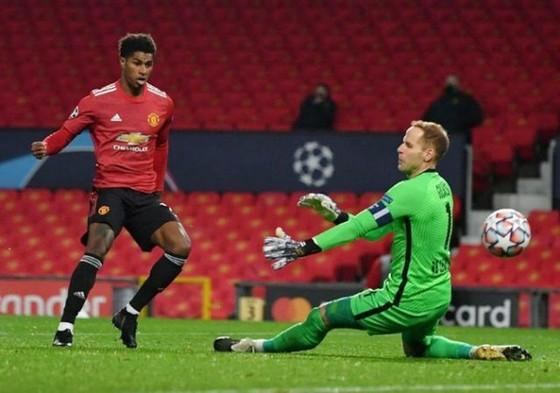 Marcus Rashford tỏa sáng giúp Man.United toàn thắng. Ảnh: Getty Images