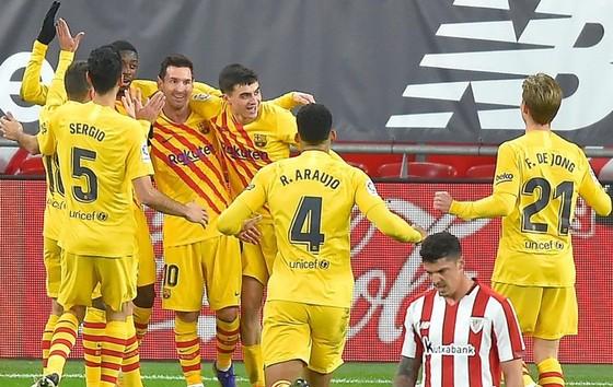Lionel Messi tỏa sáng trở lại và Barca lập tức chiến thắng.