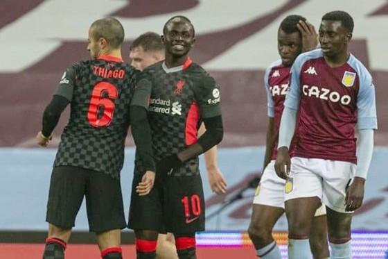 Liverpool dễ dàng đánh bại các chàng trai trẻ của Aston Villa. Ảnh: Getty Images