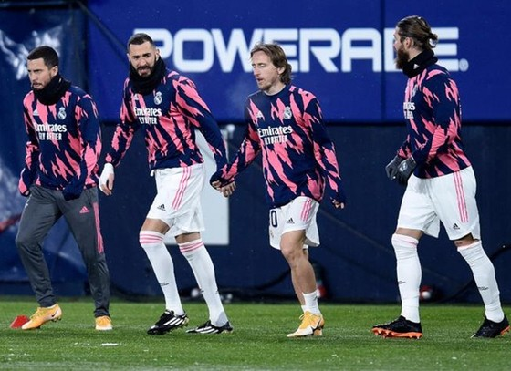 Real Madrid có thể tập trung cho bán kết Siêu cúp Tây Ban Nha.