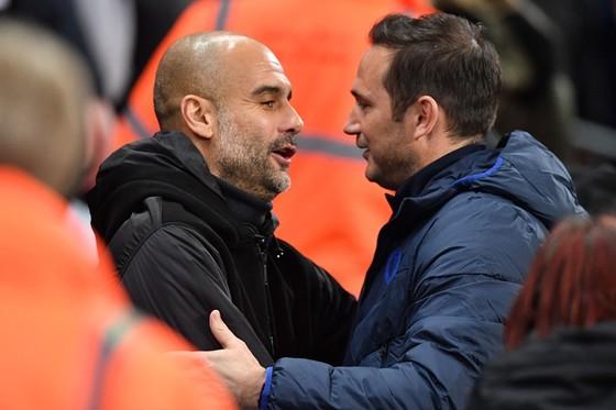 Pep Guardiola đã bày tỏ sự thông cảm với việc Frank Lampard. Ảnh: Getty Images